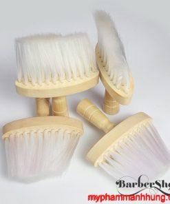 Chổi phủi tóc barber gỗ