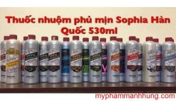 Thuốc nhuộm phủ mịn (bóng) Sophia Platinum Shining 530ml