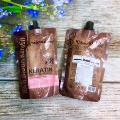 Hấp ủ Keratin Marsaroni treatment mask ( dạng túi ) 500ml