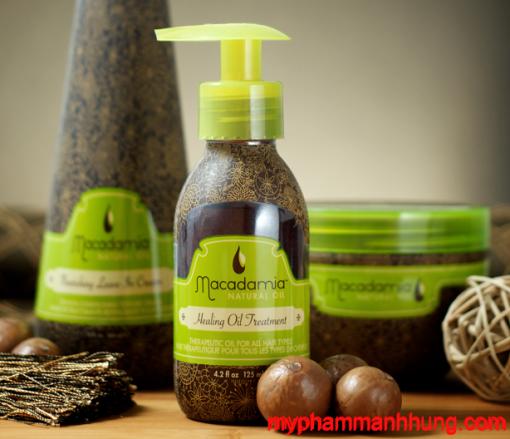 Tinh Dầu Phục Hồi Tóc Hư Tổn Macadamia Healing Oil Treatment 125ml