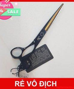 Kéo cắt tóc màu đen ,nhật, KR5