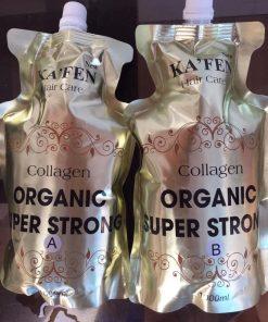 Cặp Uốn Nóng New Kafen collagen organic super strong 1000ml x2