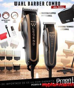 Combo tông đơ dây Legend & Hero 5 sao chuẩn barber