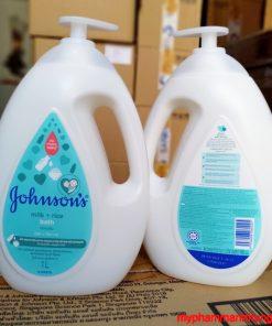Sữa Tắm Johnson 's Baby Bath Màu Xanh , Vàng 1000ml