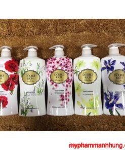Sữa tắm Double Rich hương hoa 550g