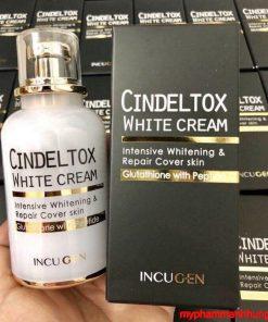 Kem Truyền trắng da Cindeltox White Cream Hàn Quốc