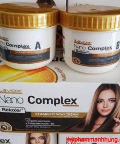 Thuốc Duỗi Tóc Chuyên Nghiệp Thế Hệ Mới Lavox Nano Complex