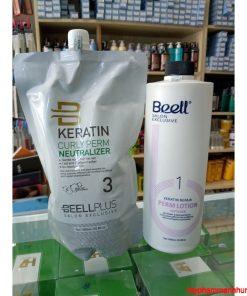 Cặp Thuốc Uốn Nóng Tóc Collagen BEELL Plus 1000ml x2