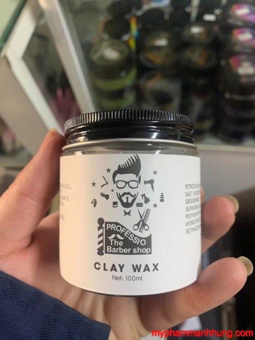 Sáp Vuốt Tạo Kiểu Tóc Clay Wax Professio The Barber Shop 100ml