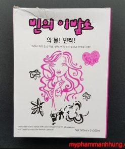 Bộ uốn đa năng Collagen Hàn Quốc 8 phút 500ml x2 + 300ml