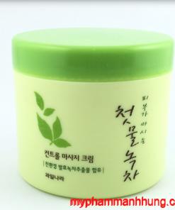 Kem Massage Trà Xanh Welcos Green Tea 300g