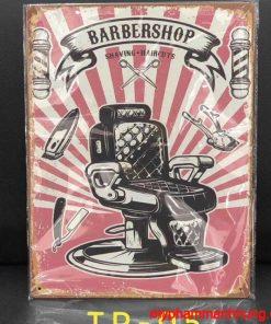 Tranh trang trí Barber 30cm x 40cm