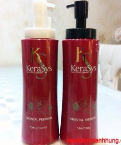 DẦU GỘI XẢ KERASYS Oriental Premium 600ml x2