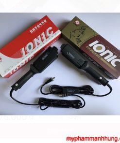 Máy ép tóc càng Ionic, máy là Ionic