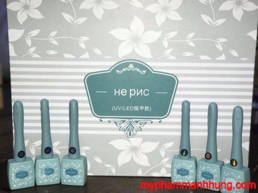 Set sơn gel 15ml He PNC 56 màu + base top bonder