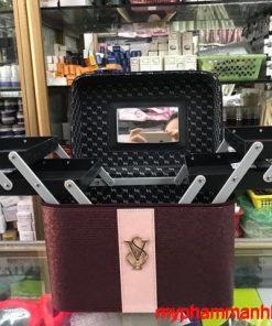 Cốp túi đựng đồ trang điểm mỹ phẩm nail mi