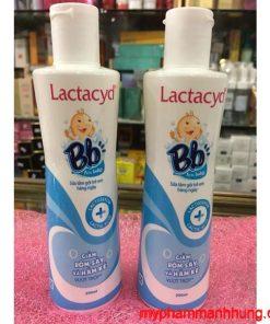 Sữa tắm Lactacyd BB 250ml - Sữa tắm gội trị rôm sảy cho trẻ sơ sinh