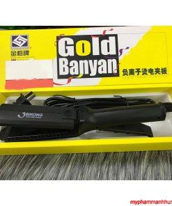Máy ép duỗi tóc bản to Jinrong Gold Banyan