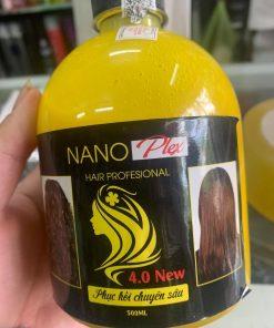 Axít béo Nano Plex hỗ trợ háo chất phục hồi tóc 4.0 chuyên sâu 500ml