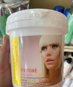 Bột tẩy rửa màu phục hồi Collagen 9D VIVITONE 500g
