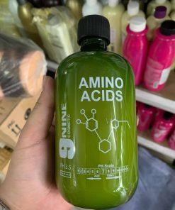 Axit Béo hỗ trợ hóa chất uốn duỗi nhuộm tóc 9NINE 500ml