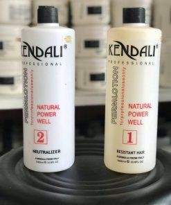 Cặp thuốc uốn lạnh Kendali dạng nước mùi nhẹ nhàng 1000ml x2