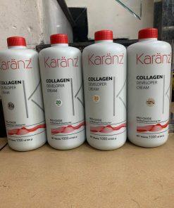 Oxy dung dịch trợ nhuộm thơm không rát da đầu Karanz 1000ml