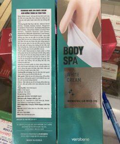 Kem dưỡng trắng toàn thân Verobene body spa 200ml