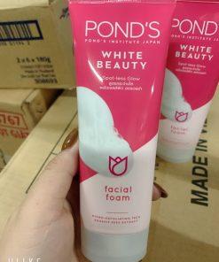 Sữa rửa mặt trắng hồng rạng rỡ Pond's White Beauty Pinkish White Facial Foam 100g