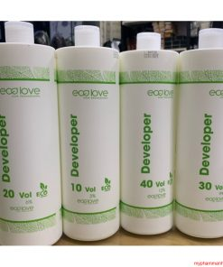Oxy dung dịch trợ nhuộm ECOLOVE 1000ml