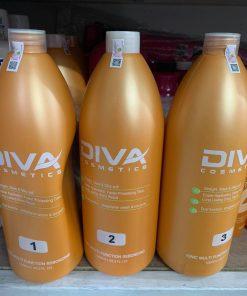 Cặp thuốc Uốn ép đa năng Diva 1000ml x2