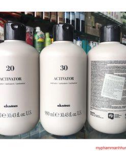 Oxy trợ nhuộm không rát da đầu Activator Davines 900ml