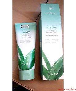 Tẩy Da Chết Lô Hội Dưỡng ẩm và Phục hồi Dabo Aloe Peeling Gel 180ml