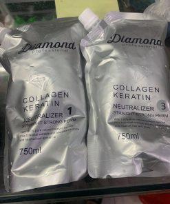 Cặp kem uốn và kem ép DIAMOND 750ml x2
