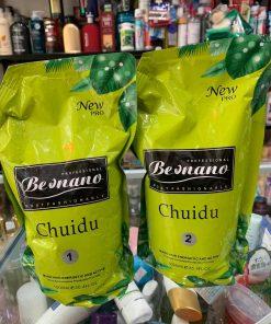 Cặp kem uốn thơm Beonano Chuidu 1000ml x2