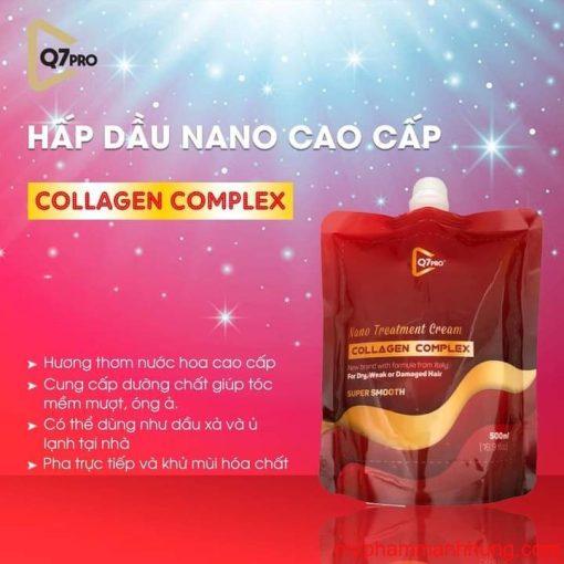 Kem Hấp dầu NANO COLLAGEN Q7 Pro 500ml