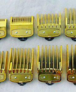Bộ 10 cữ gá thép tông đơ WAHL màu vàng Gold